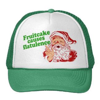 El Fruitcake causa flatulencia Gorros