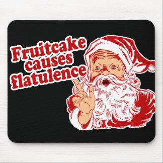 El Fruitcake causa flatulencia Mousepad