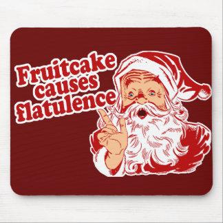 El Fruitcake causa flatulencia Alfombrillas De Ratón