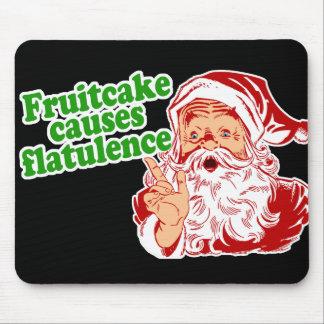 El Fruitcake causa flatulencia Alfombrillas De Ratones