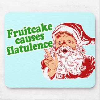 El Fruitcake causa flatulencia Alfombrillas De Raton