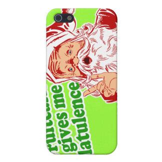 El Fruitcake hace que Santa Fart iPhone 5 Funda