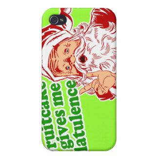 El Fruitcake hace que Santa Fart iPhone 4/4S Carcasa