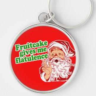 El Fruitcake hace que Santa Fart Llavero Personalizado