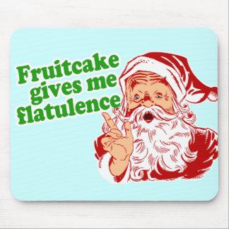 El Fruitcake hace que Santa Fart Tapetes De Ratón