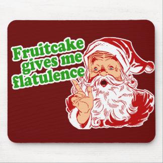 El Fruitcake hace que Santa Fart Alfombrilla De Raton