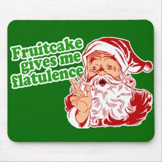El Fruitcake hace que Santa Fart Tapetes De Raton