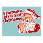 El Fruitcake le da flatulencia Postales