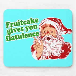 El Fruitcake le da flatulencia Alfombrillas De Ratón