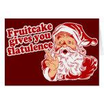 El Fruitcake le da flatulencia Tarjeton
