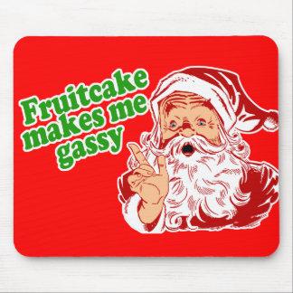 El Fruitcake me hace gaseoso Alfombrillas De Ratones