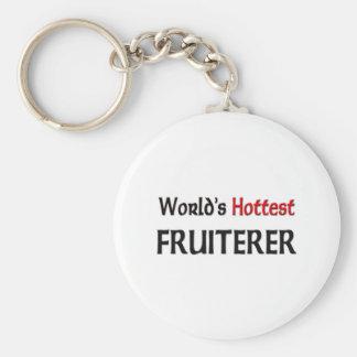 El frutero más caliente de los mundos llavero