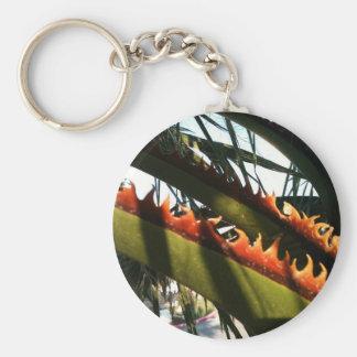 El fuego de la naturaleza llavero redondo tipo pin
