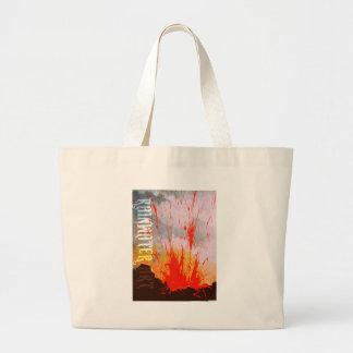 El fuego de Pele Bolsas De Mano