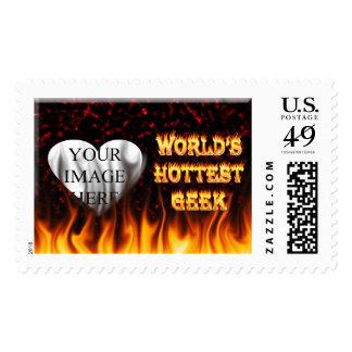 El fuego del friki del mundo y el rojo más estampillas