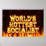 El fuego del mundo y el marb socialistas más calie posters