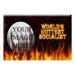 El fuego del mundo y el marb socialistas más calie poster