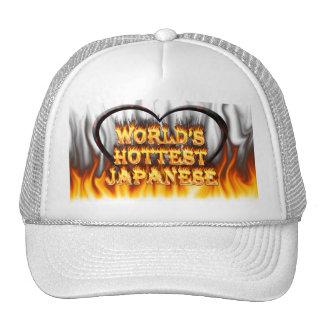 El fuego del mundo y el marbl japoneses más calien gorras
