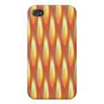 El fuego entona las correas iPhone 4/4S carcasa