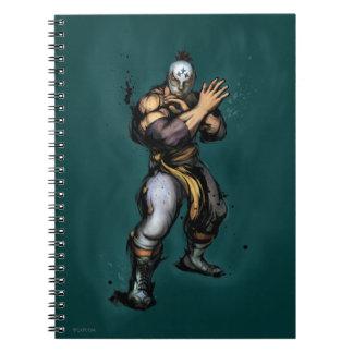 El Fuerte Blocking Spiral Notebook