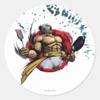 El Fuerte Classic Round Sticker