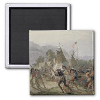 El fuerte Mackenzie, el 28 de agosto de 1833, plat Iman De Nevera