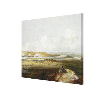 El fuerte Pedro en el Missouri, platea 10 de volum Lienzo Envuelto Para Galerias