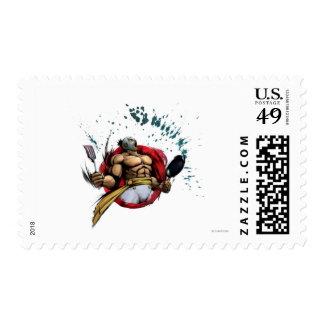 El Fuerte Postage Stamp