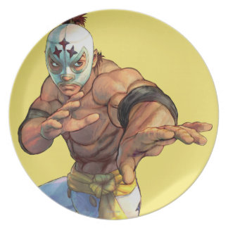 El Fuerte Ready Stance Party Plate