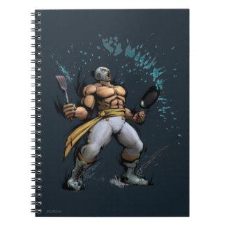 El Fuerte With Frying Pan Notebook