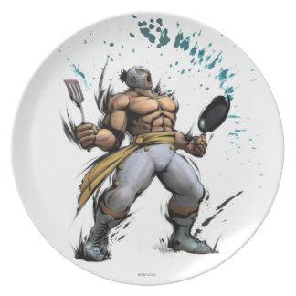 El Fuerte With Frying Pan Plate