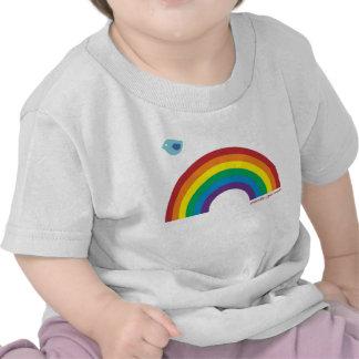 El FUG embroma el pájaro del arco iris Camiseta