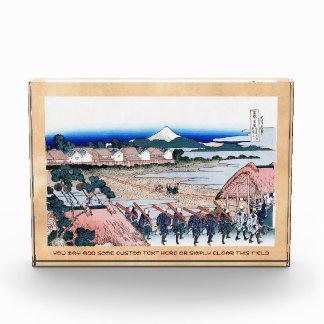 El Fuji visto de cuarto gay en Senju Hokusai