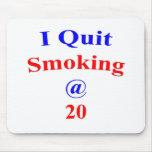 El fumar abandonado 20 alfombrillas de ratón