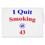 El fumar abandonado 43 felicitaciones