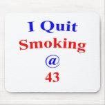 El fumar abandonado 43 tapete de raton