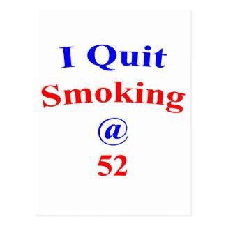 El fumar abandonado 52 postales