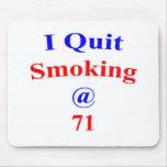 El fumar abandonado 71 tapetes de ratones