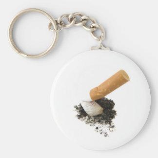 El fumar abandonado llaveros