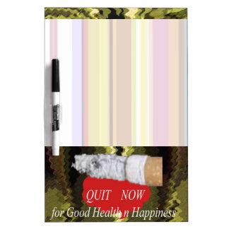 El fumar ABANDONADO - para la felicidad de la buen Pizarras