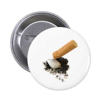 El fumar abandonado pin redondo 5 cm