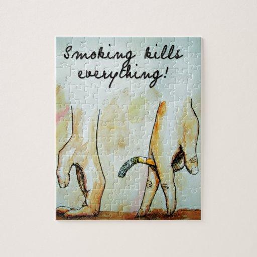 el fumar mata todo art2 puzzle con fotos