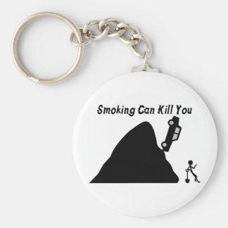 El fumar puede matarle llaveros