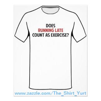 ¿El funcionamiento atrasado cuenta como ejercicio? Tarjeton
