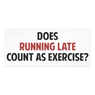 ¿El funcionamiento atrasado cuenta como ejercicio? Lonas