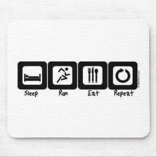 El funcionamiento del sueño come la repetición alfombrillas de raton