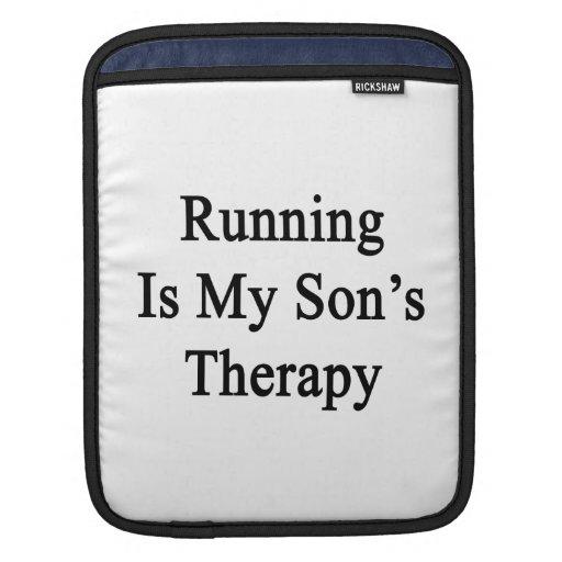 El funcionamiento es la terapia de mi hijo manga de iPad