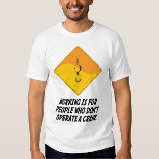 El funcionamiento está para la gente que no actúa camisas