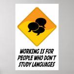 El funcionamiento está para la gente que no estudi posters