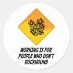 El funcionamiento está para la gente que no lo pegatina redonda